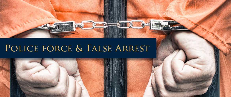 Police Excessive Force and False Arrest – New York Attorneys Berkowitz & Weitz