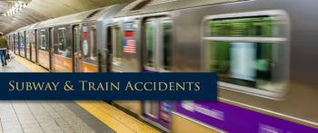 Subway or Train Injury Accident Case
